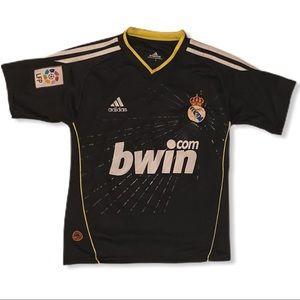 Adidas bwin soccer jersey sz S